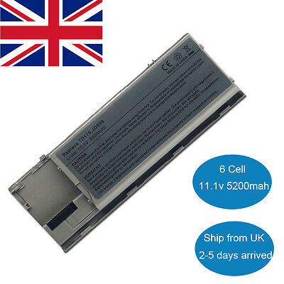 5200mah Laptop Battery For Dell Latitude D620 D630 D640 Precision M2300 PC764 • 18.99£