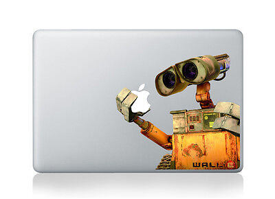 MacBook WALL-E Apple Vinyl Decal Sticker For MacBook 13 Inch • 8.80£