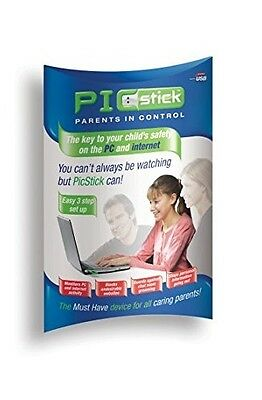 PicStick USB Child Safety Control Device For PC Internet Easy Set Up • 9.99£
