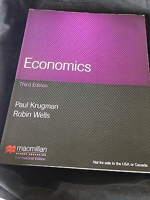 Economics By Paul Krugman, Robin Wells (Paperback, 2012) • 39.99£
