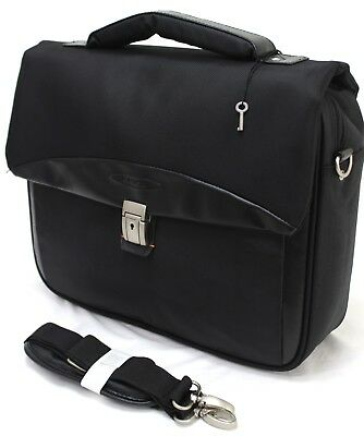 Executive 16  Laptop Notebook Flight Business Office Travel Carry Briefcase  • 16.99£
