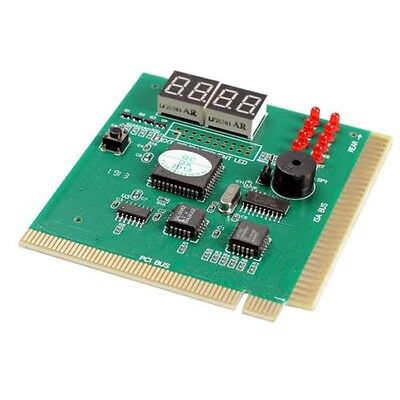 A1ST New 4-Digit LCD Display PC Analyzer Diagnostic Card Motherboard Post Tester • 11£