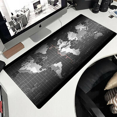 90x40cm Extra Large XXL Size Anti-Slip Gaming Mouse Pad Mat F/ PC Laptop Macbook • 7.99£