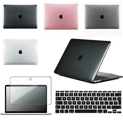 Crystal Case Cover + Keyboard Skin + Screen Protecter For MacBook Air 13  • 9.49£