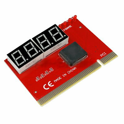 New 4 Digit LED Analysis Diagnostic Tester POST Card PCI PC Analyzer Motherboard • 5.21£