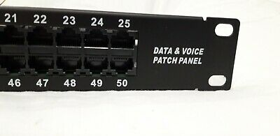 Data And Voice Patch Panel • 12£