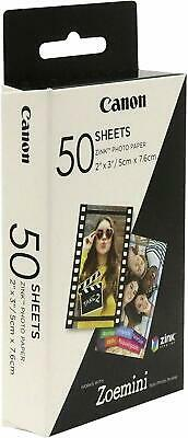 Canon Zoemini Zink Instant Camera Photo Paper (Pack Of 50 Sheets) • 22.99£