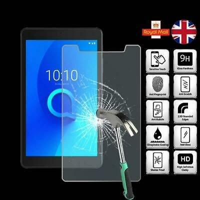 For Alcatel 3T 8 - Tablet Tempered Glass Screen Protector Cover • 4.99£