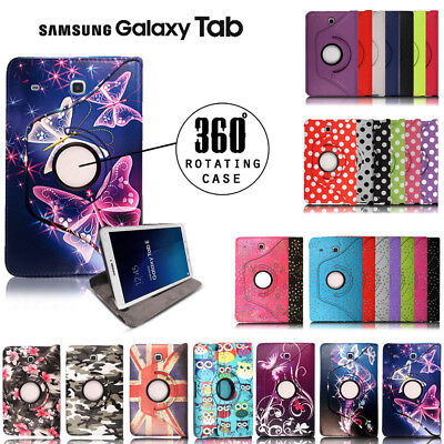 Folio Stand Leather Cover Case For 7  8  10.1  Samsung Galaxy Tab A A6 Tablet • 4.95£