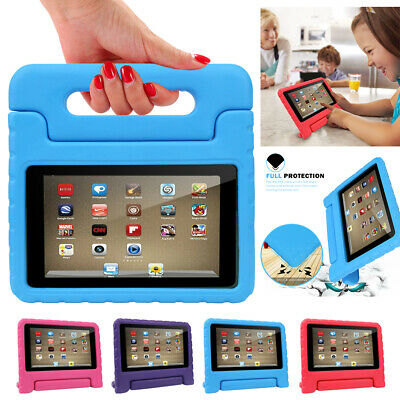Kids Shockproof EVA Protective Case For Amazon Kindle Fire 7 Inch 2019 Tablet • 6.89£
