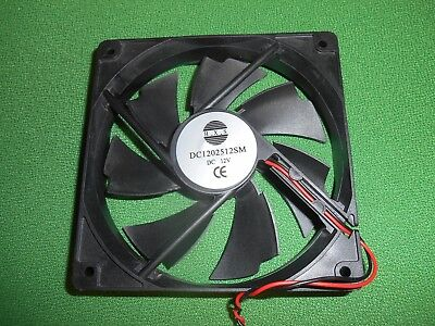 Dell H.X.S. DC1202512SM 12V 1400RPM DC Brushless  Fan • 9.99£