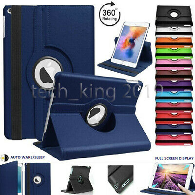 For Apple IPad 7th Generation 10.2  (2019) 360° Rotating PU Leather Case Cover • 5.99£