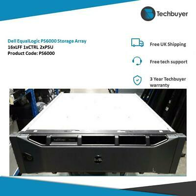 Dell EqualLogic PS6000 Storage Array 2 X Controllers 2 X PSUs • 380£