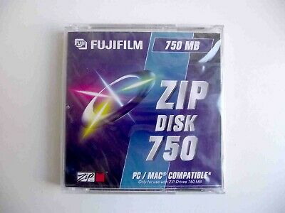 Fujifilm Iomega Zip 750MB Disk With Cracked Case - Sealed • 3.50£
