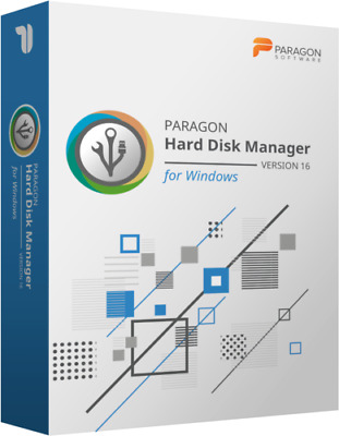 Paragon Hard Disk Manager 16.5 Advanced Backup Recovery Software • 3£