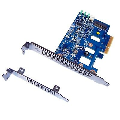 HP MS-4365 Z Turbo Drive G1 PCIe - M.2 SSD Adapter Card FH&LP Bracket 742006-002 • 9.90£