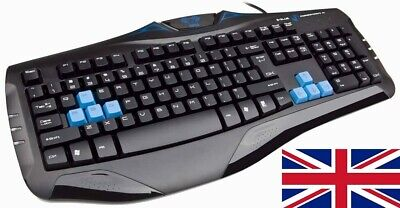 VicTsing Wireless Keyboard & Mouse For Laptop PC Mac UK Layout Combo Slim Quite • 14.99£