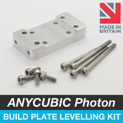 ANYCUBIC Photon S Build Plate Platform Levelling Upgrade Kit - Resin 3D Printer • 20.99£