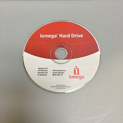 Iomega 2006 Hard Drive Solutions CD  • 4.99£