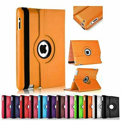 Case For IPad 9.7 (6th Generation) 2017 2018 360° Leather Rotating Smart Cover • 6.99£