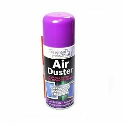 200ml Compressed Air Duster Cleaner Can Laptop Keyboard Keypad Mouse Printers • 5.99£