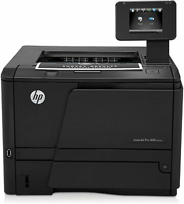 HP LaserJet Pro 400 M401dw A4 Duplex Network Wireless Mono Printer + Warranty • 94.99£