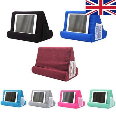 Tablet Holder Foam Pillow Stand Mobile Phone Laptop Bracket Multi Angle Cushion • 12.89£