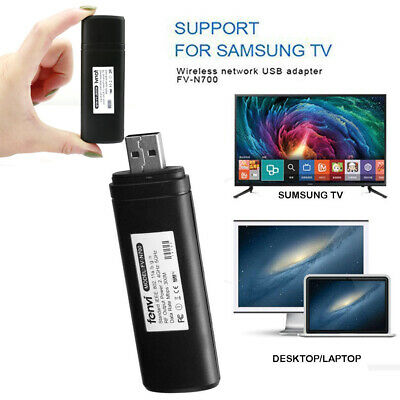 USB Wireless Wi-Fi Adapter For Samsung Smart TV 802.11ac 2.4GHz /5GHz Dual-band • 16.99£