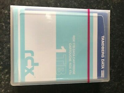 Tanberg 1.0 TB RDX Removable Disk Cartridge Brand New Unopened • 60£