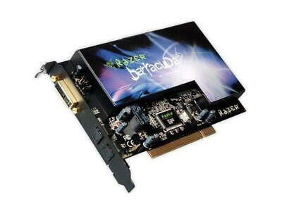 Razer Barracuda AC-1 PCI Gaming Audio Card With Optical S/PDIF Cable • 30£
