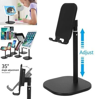 Universal Tablet Desktop Holder Stand For IPad Samsung IPhone Mobile Phone UK • 8.39£