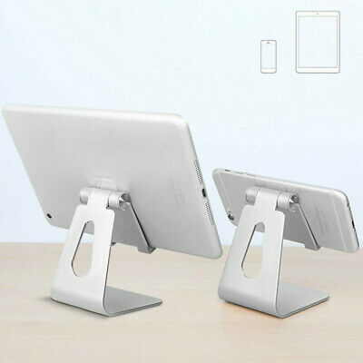 Adjustable Desktop Table Stand Holder Mount For IPad Tablet Phone Light Silver • 7.29£