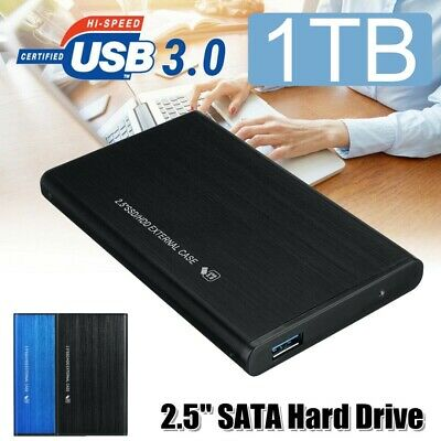 2.5'' USB3.0 External Hard Drive 1TB HDD Storage Device For PC Laptop Portable • 25.99£
