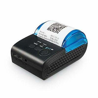 SVANTTO POS Printer Bluetooth Thermal Receipt Printer,Mini Wireless 58mm Mobile • 55.99£