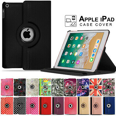 For Apple IPad 7th Generation 10.2  (2019) 360° Rotating PU Leather Case Cover • 4.89£