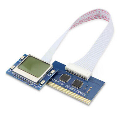 PCI Card Diagnostic Analyzer LCD Tester POST Motherboard For PC Desktop • 7.22£