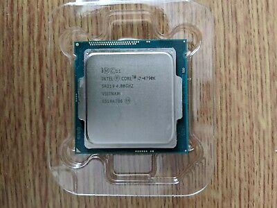 Intel BX80646I74790K Core I7-4790K 4GHz Quad Core Processor • 85£