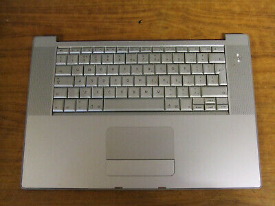 Apple MacBook Pro A1150 15  Keyboard Topcase Palmrest 2006  UK VG  • 20£