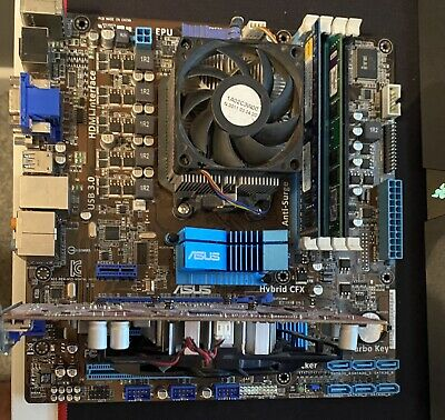 PC Combo (CPU, Motherboard, Ram, GPU) [SEE DESCRIPTION FOR PARTS LIST] • 55£