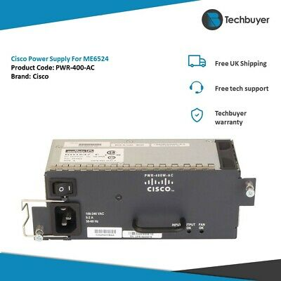 Cisco Power Supply For ME6524 - PWR-400-AC • 180£