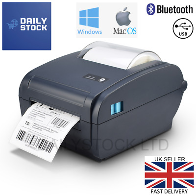 Thermal Label Printer 4x6 150x100mm Windows & Mac Royal Mail Etsy Hermes 6x4 • 99.99£
