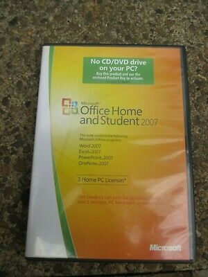 Microsoft Home And Student 2007 • 7.50£