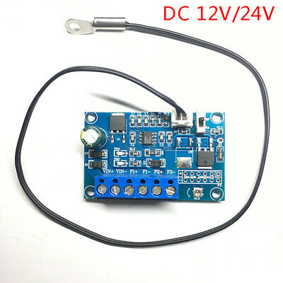 DC Fan Temperature Control Governor PWM Chassis Fan Speed Regulator 12V 24V 2A • 8.99£