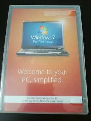 Microsoft Windows 7 Professional Software 32 Bit DVD Disk. No Reserve! • 4.20£