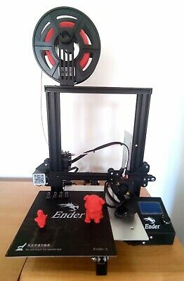 Creality Ender 3 3D Printer, Magnetic Bed + EXTRA PLA! • 180£