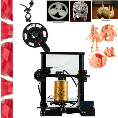 3D Printer Aluminum DIY Kit Print 220x220x250mm Ctc Ender 3 Pro High Precision • 119£