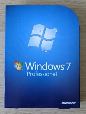 Microsoft Windows 7 Professional Software Box With Genuine Key - No Reserve • 12.75£