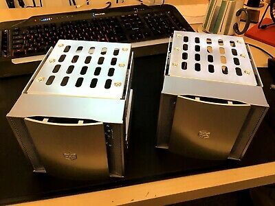 Silverstone 4 In 3 Drive Bay Unit SST-CFP51S X 2 • 30£