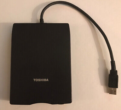 Toshiba Usb Fdd Kit Model No: Pa3109u-1fdd - External Usb Floppy Disk Drive • 18.99£