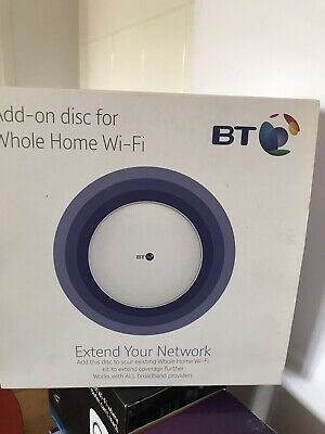 Bt Add-on Disc For Whole Home Wi-fi Dual Band • 31£